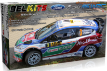 FORD FIESTA RS WRC / BELKITS 003 / MIKKO HIRVONEN-JARMO LETHINEN // OUT OF STOCK