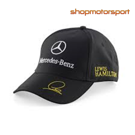 Lewis hamilton cap f1 merchandise shopmotorsport for Mercedes benz f1 shop