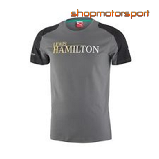 Lewis hamilton t shirt f1 merchandise shopmotorsport for Mercedes benz f1 shop