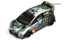 FORD FIESTA RS WRC / IXO RAM 507 / KEN BLOCK-ALEX GELSOMINO // OUT OF STOCK