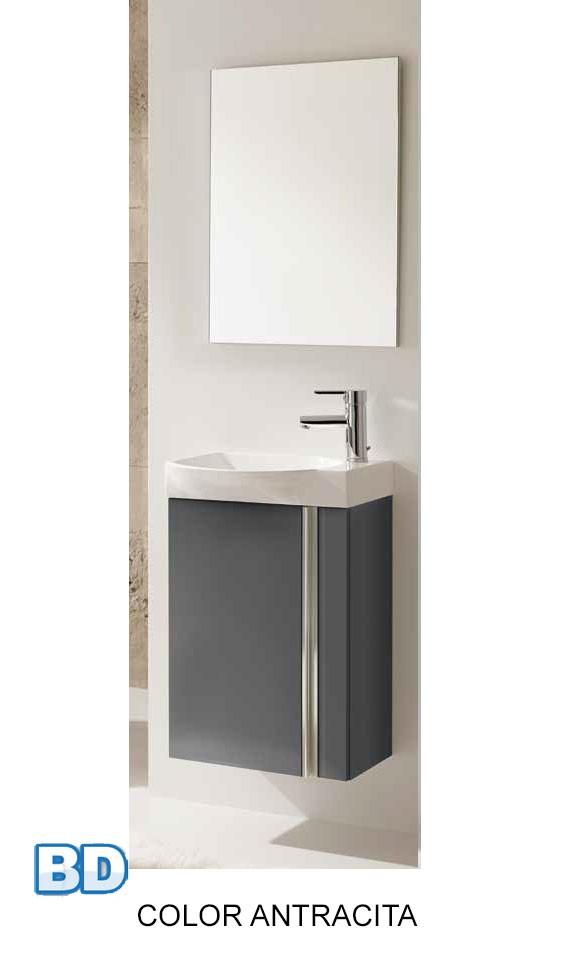 Mueble Baño Gris Arenado:Mueble de baño Smart de Bannio