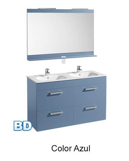 Baño Color Azul Pelo:Mueble de baño 120 cm Joli de Roca
