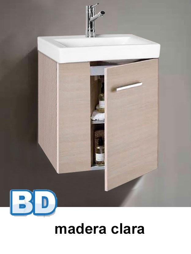 mueble geminis mini madera clara