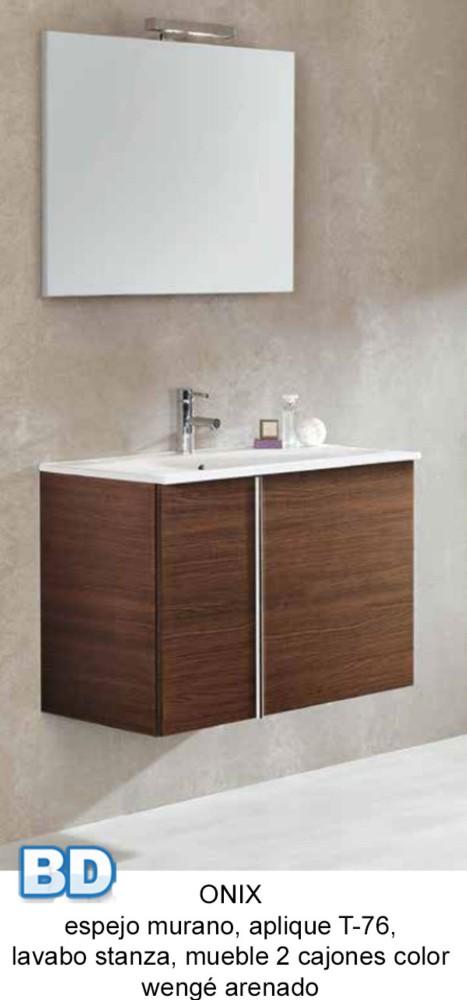 Lavabos Para Baño De OnixMueble de baño Onix de Bannio  Lavabos