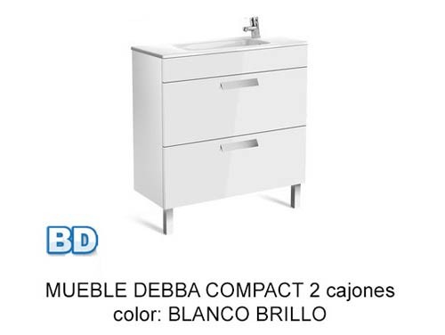 Mueble De Baño Unik Debba Compact : Mueble de ba?o roca unik debba cajones ba?os