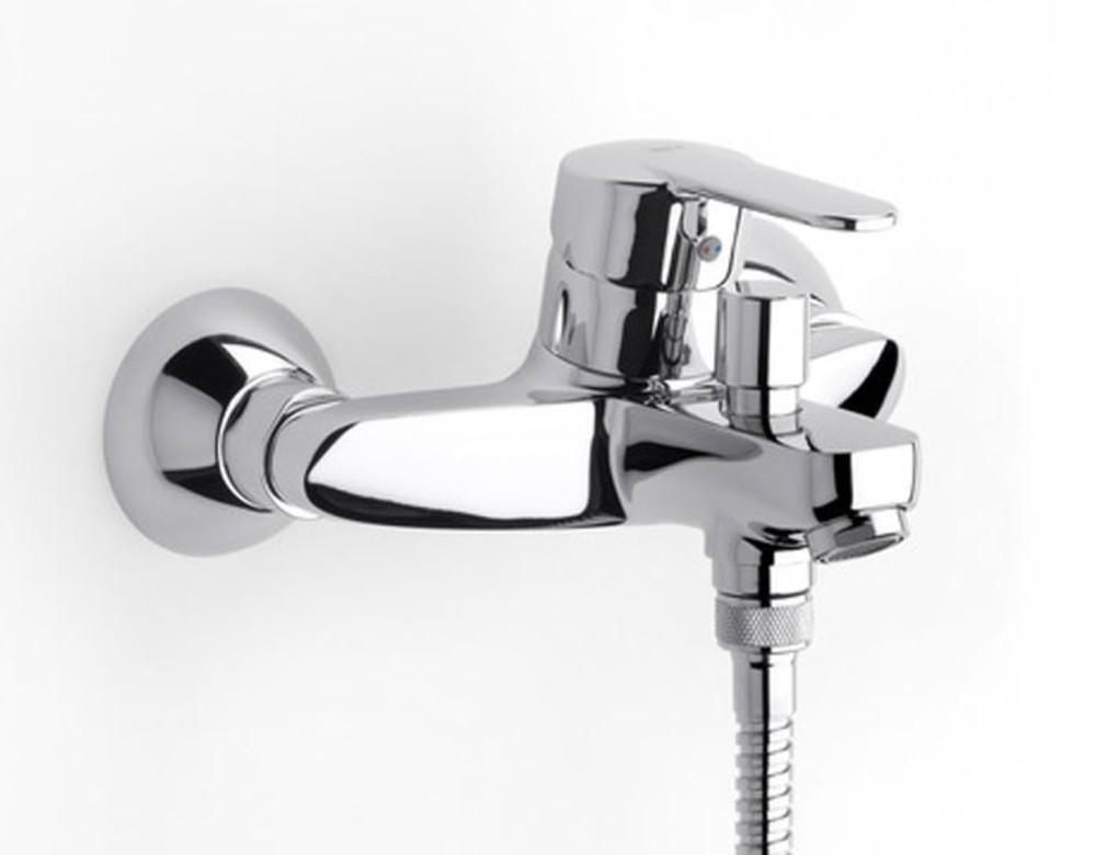Grifos para duchas affordable mezclador termosttico de for Grifos mezcladores para ducha