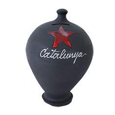 Guardiola amb estel roig i 'Catalunya'