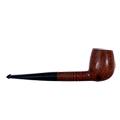 Pipa de fumar amb senyera vista de costat