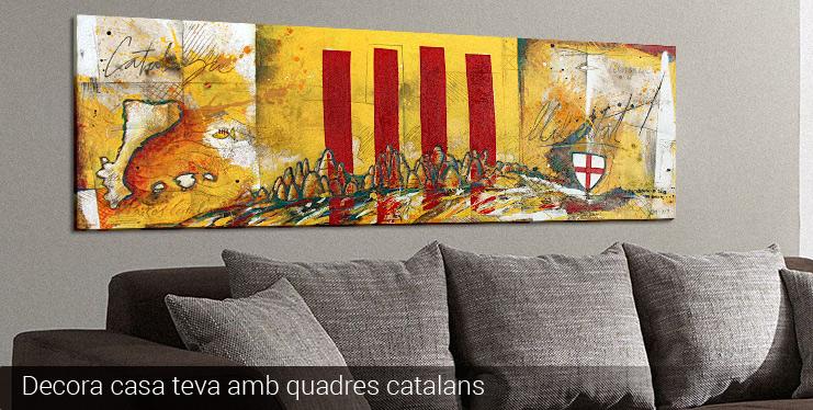 Quadres catalans pintats a mà