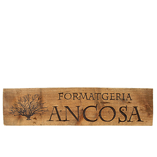 artdelaterra - Retol de fusta personalitzat