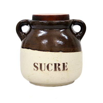 Pot de ceràmica per a Sucre
