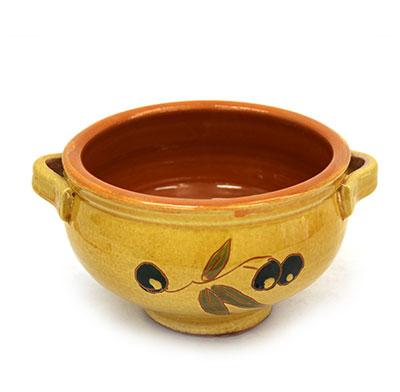 Sopera individual de ceràmica