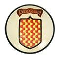 Plat amb escut de Tarragona per a penjar