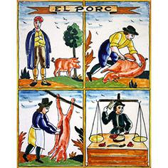 Rajola amb auca 'El Porc'