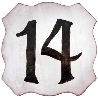 Número de paret