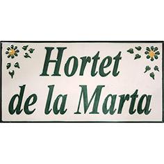 Rajola amb 'Hortet de la Marta'