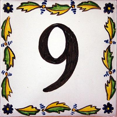 Número de ceràmica