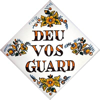 Rajola amb Déu Vos Guard