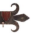 Detall de l'escut català