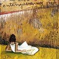 Detall del quadre català amb noia mirant a l'horitzó
