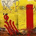 Detall del quadre amb senyera i escut de Sant Jordi per Omnium Cultural