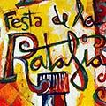 Detall del quadre primer premi per la Festa de la Ratafia