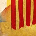 Detall del quadre amb estelada roja