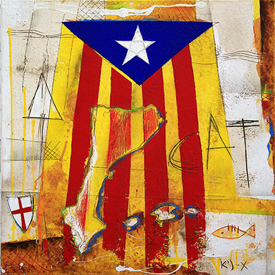 Estelada, St. Jordi,