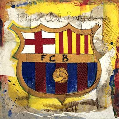 Escut del Futbol Club Barcelona