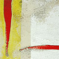Detall del quadre 4 barres i creu de St. Jordi