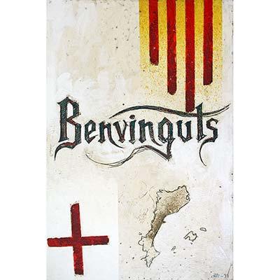 Benvinguts amb senyera, St. Jordi i PPCC