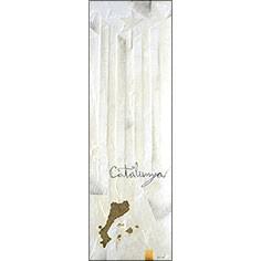 Estelada blanca d'estil minimal