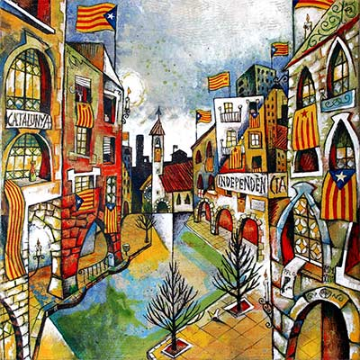 Paisatge urbà de Catalunya