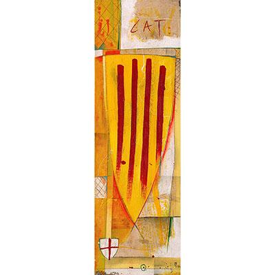 Escut català i escut de St. Jordi