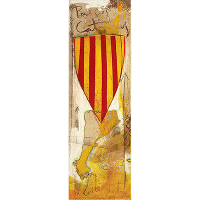 Escut català amb escut de St. Jordi