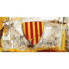 Quadre amb escut català