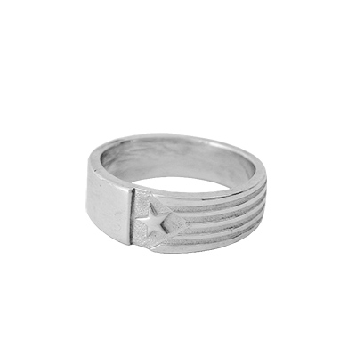 Anell de Plata amb estelada
