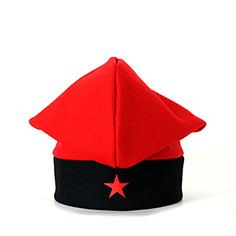 Barretina tradicional amb estel roig