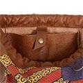 Butxaca interior de la bossa d'esquena pintada amb estelada i ppcc