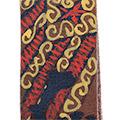 Detall del cuir pintat amb estelada i ppcc