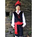 Nen amb vestit d'Hereu català