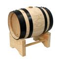 Peu pla amb Bóta o barril de vi