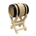 Peu alt amb Bóta o barril de vi
