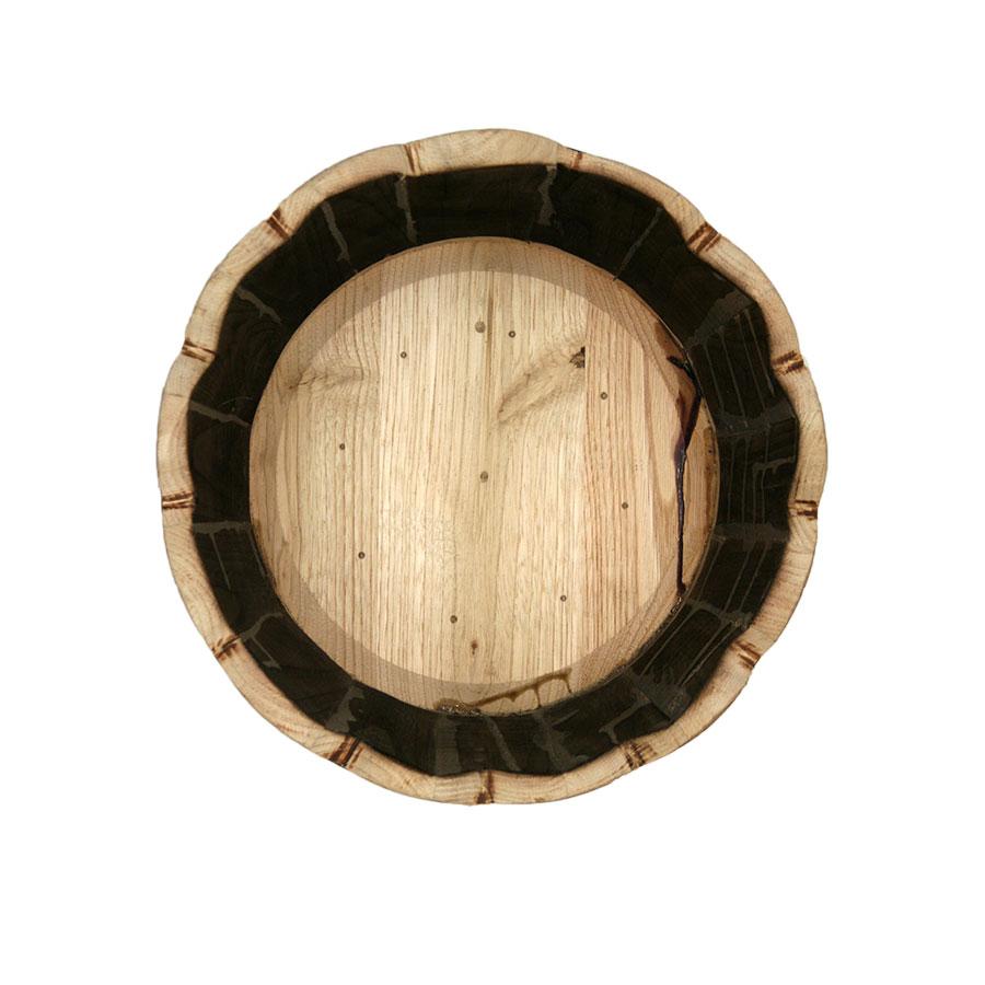 Dalt de la Torreta feta amb mitja Bóta o barril de vi