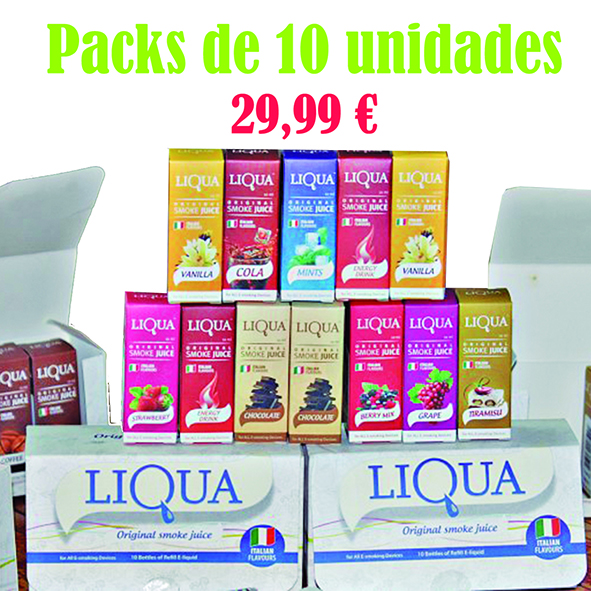 PACKS LÍQUIDOS LIQUA