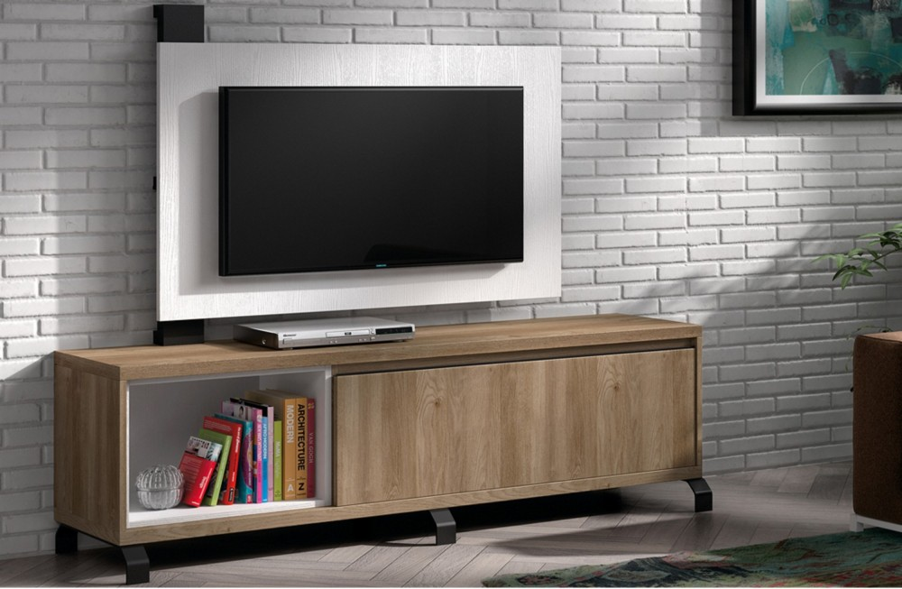 Mueble tv moderno liri for Mueble tv moderno