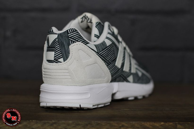 Adidas Zx Flux Mujer Blancas
