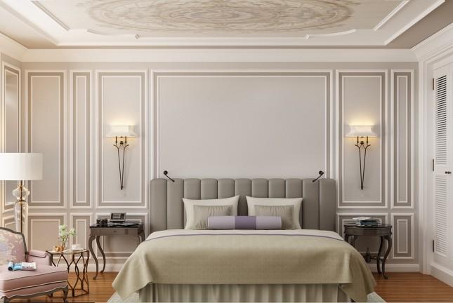 Dormitorio de diseño en Casa Decor