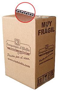 Caja de envío personalizada