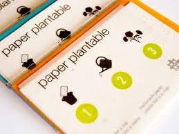 Paper plantable - Targeta + sobre